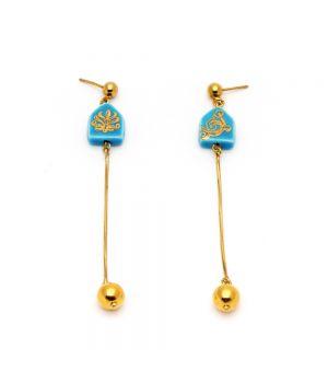Chain House Earrings, fig. 1