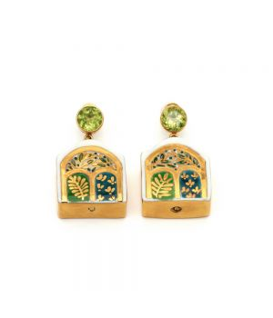 """The Journey"" Peridot Earrings: Limited Edition, fig. 1"