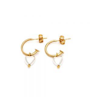 Creole Heart Earrings, fig. 1