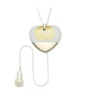 Heart Pendant Necklace with Charm, fig. 1
