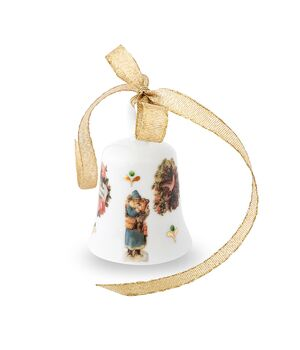 Christmas porcelain bell - Vintage Christmas, fig. 2