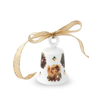 Christmas porcelain bell - Vintage Christmas, fig. 3