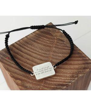 Customized monogram bracelet, fig. 3