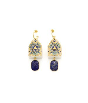 """The Journey"" Lapis Earrings: Limited Edition, fig. 1"