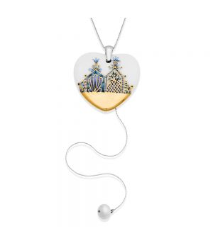 Heart Necklace with Charm, fig. 1