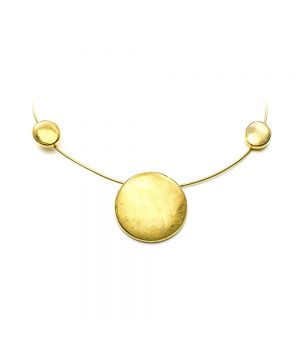 Gold Plated Silver Necklace, fig. 1