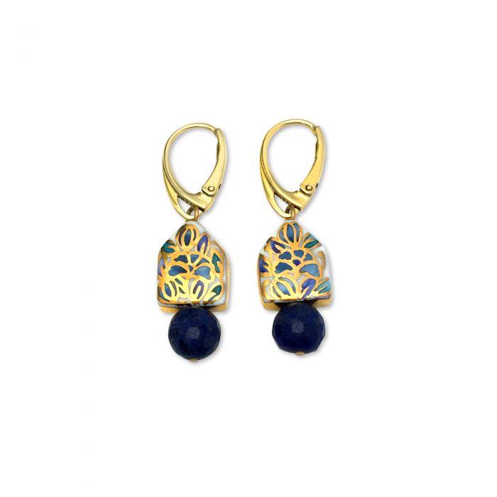 Cercei Casă şi Lapis Lazuli