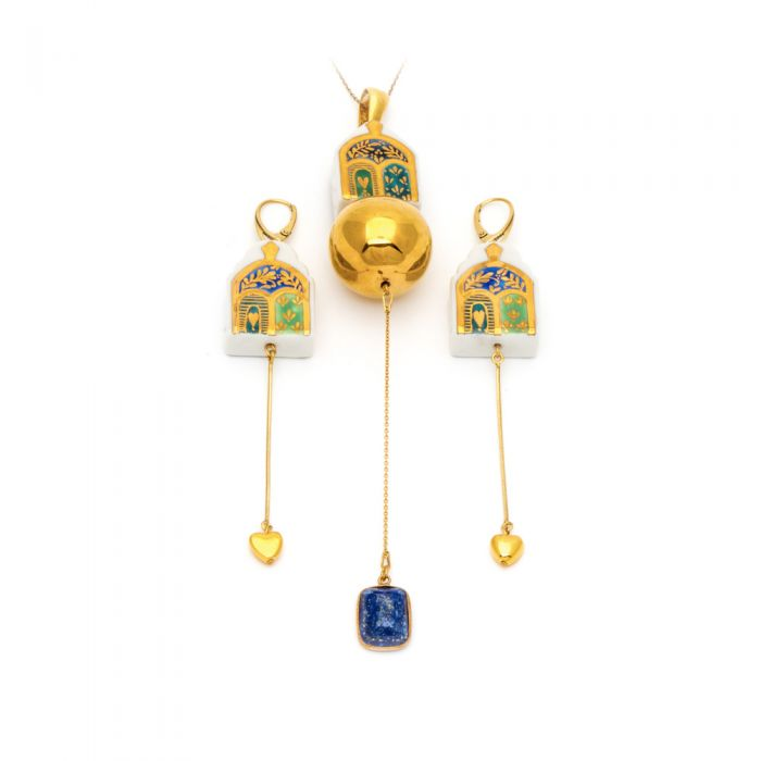 """""""The Journey"""" Chain Earrings: Limited Edition, fig. 2"""
