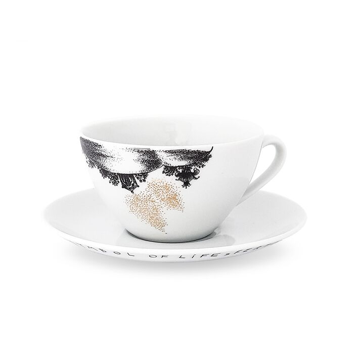 Cup and Saucer, fig. 1