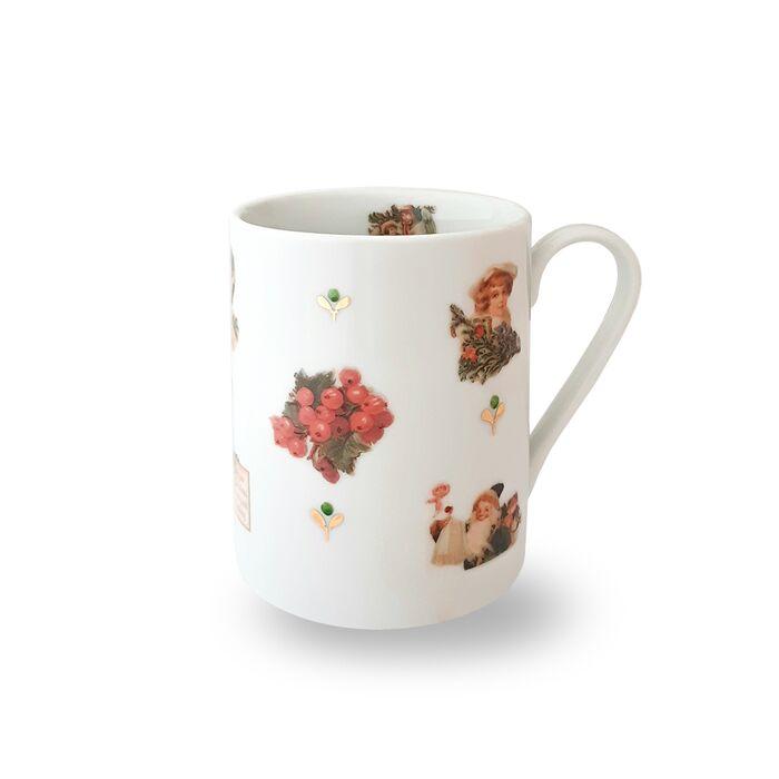 Porcelain Mug - Vintage Christmas, fig. 1