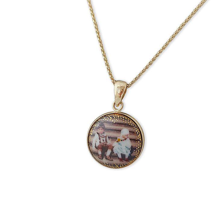 Monogram Personalised Pendant Necklace, fig. 1