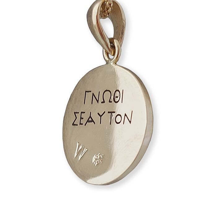 Monogram Personalised Pendant Necklace, fig. 3
