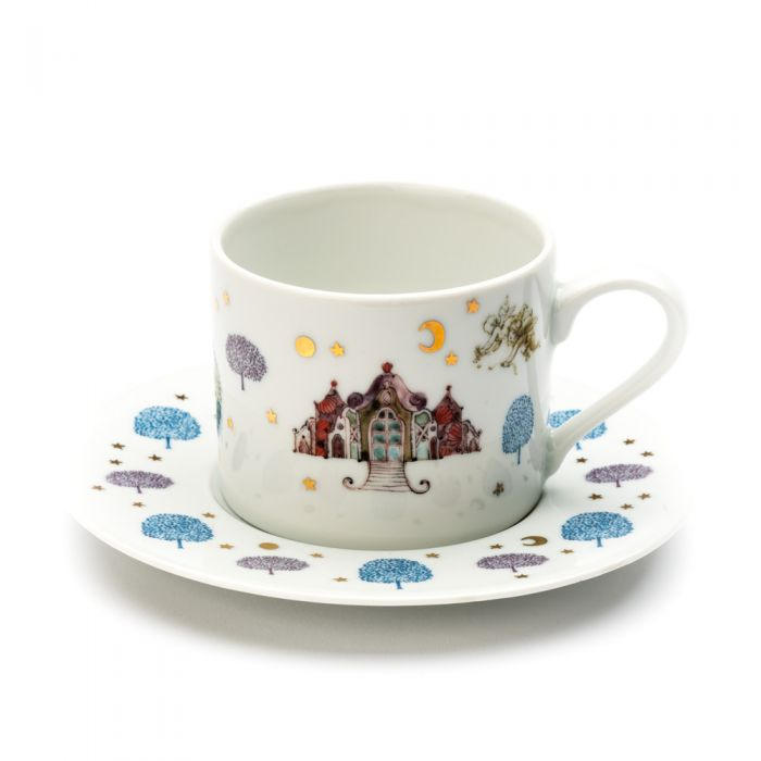 Cup & Saucer, fig. 1