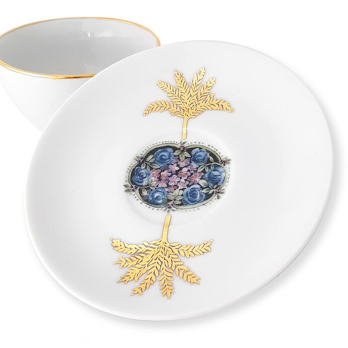 Cup and Saucer, fig. 2
