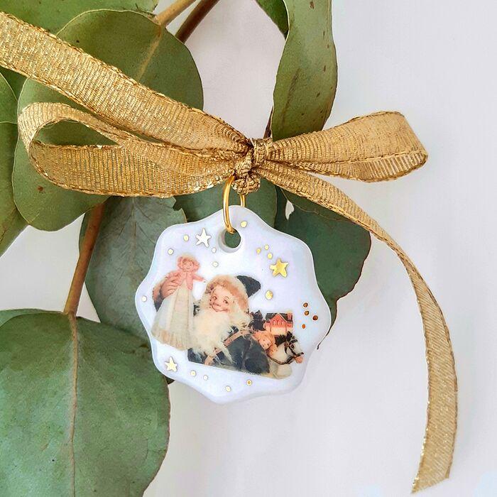 Christmas tree decoration Saint Nick - Vintage Christmas, fig. 1